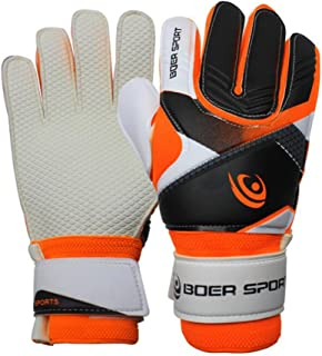 Raysell 7-9 Size Kids Youth Adult Football Soccer Goalkeeper Goalie Training Gloves Gear Protector