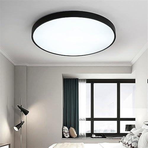 DengWu Plafonniers Lampe de plafond LED lampe de chambre à coucher moderne simple balcon créatif chaud tout lampe éclairage séjour nordique, 32  32cm