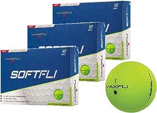 Maxfli SoftFli Matte Golf Balls - Longer Straight Distance - Soft Feel