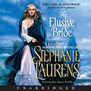 The Elusive Bride                   De :                                                                                                                                 Stephanie Laurens                               Lu par :                                                                                                                                 Simon Prebble                      Durée : 14 h et 18 min     Pas de notations     Global 0,0