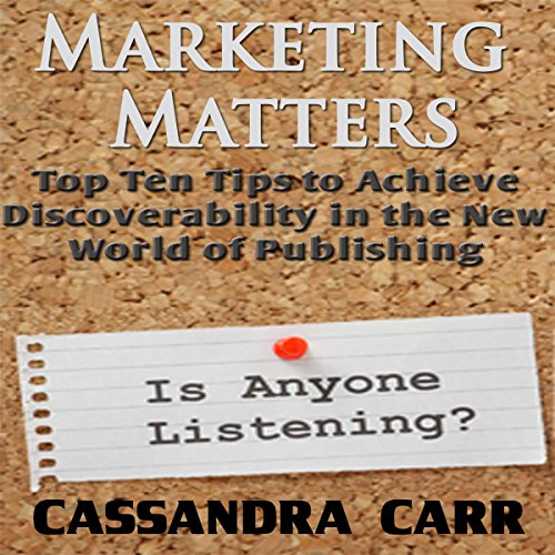 Marketing Matters audiobook cover art