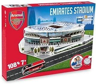 Arsenal Football Emirates Stadium Replica Fun Home Ground 3D Puzzle Game