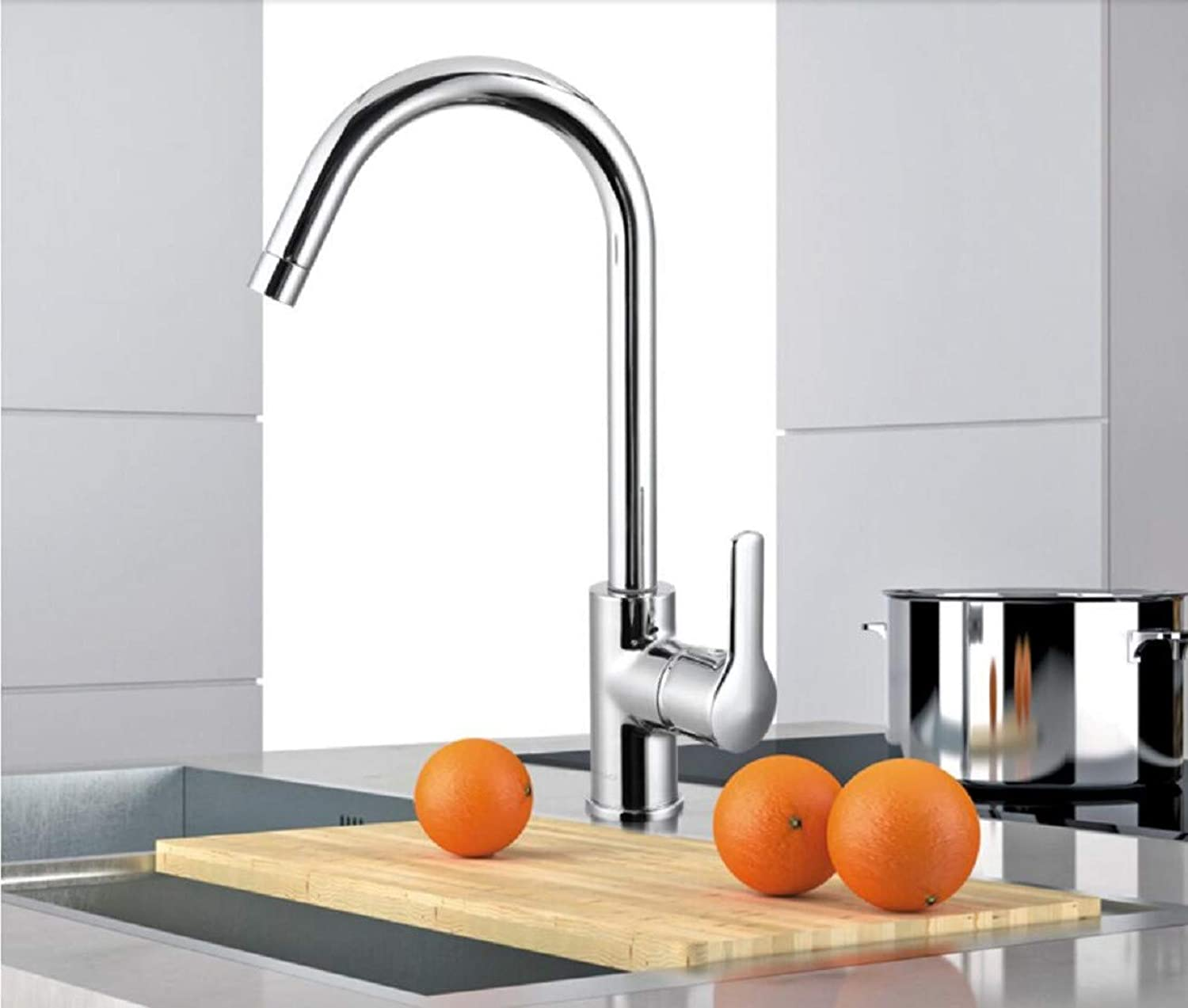 Kitchen Tap Sink Cold Hot Faucet Double Tank Washing Basin Faucet Kitchen Taps Kitchen Sink Mixer Taps Basin Tap