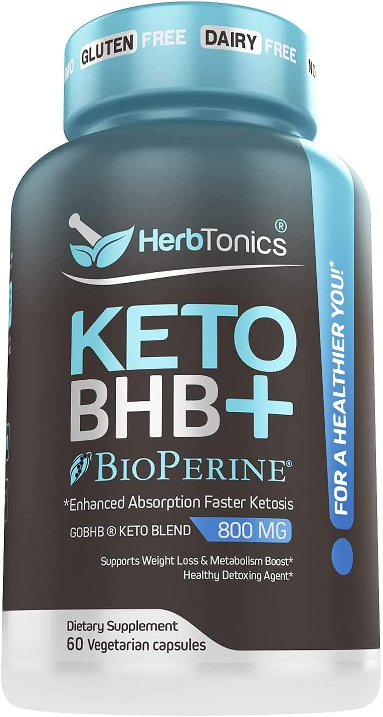 High Strength Keto Bhb Diet Pills with 5 ☆ popular for Ab Large special price !! Bioperine Enhanced