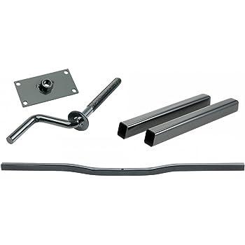 Triton 06432 XT Or LT Snowmobile Trailer Steel 46-inch Tie Down Bar With Triton 02739 Tie Down Screw