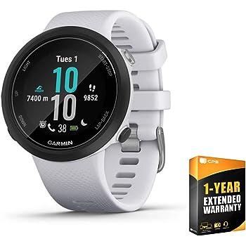 Garmin 010-02247-01 Swim 2 GPS Swimming Smartwatch Whitestone Bundle with 1 Year Extended Warranty
