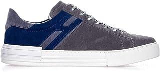 Luxury Fashion | Hogan Men HXM5260CW00HG06170 Grey Leather Sneakers | Spring-summer 20