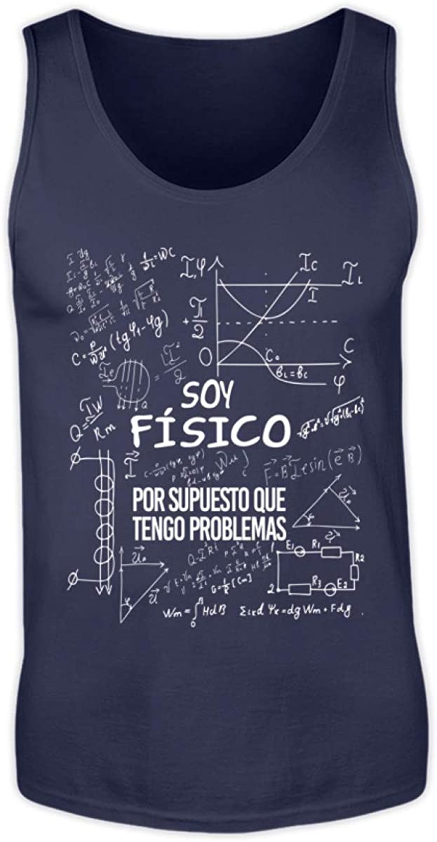 Shirtee Soy Físico - Tengo Problemas - Camiseta Hombre Camisa ...