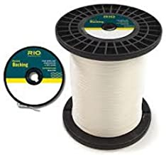 Rio Fly Line Backing, Dacron, 20 lb Test, White - 100, 150, 200, 250, 300, 400, 600 up to 5000 yds