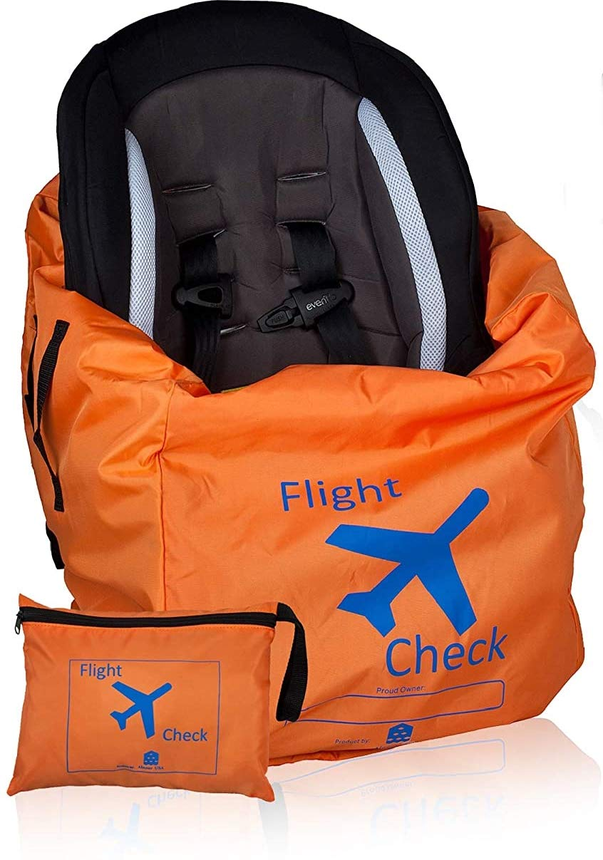 Car Seat Travel Bag and Carrier Today's only Gate Check New product! New type with Pouch for