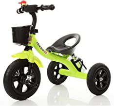 MEI XU Carriolas Triciclo de niños Carrito de bebé Bebé Bicicleta Coche de juguete para bebés Sillas de paseo (color : Green)