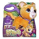 Hasbro FurReal Gato Peealots (Peluche de Gatito Interactivo Que pasea y Hace pipí) (E89495L20)