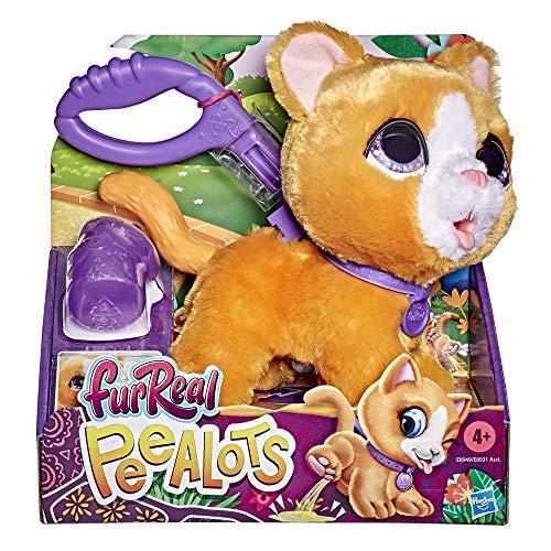 Hasbro FurReal Gato Peealots (Peluche de Gatito Interactivo Que pasea y Hace pipí) (E89495X3) 🔥