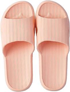 Ladies Bathroom Shower Slippers, Family Floor Slippers Breathable Open-Toed Pool Slippers EVA Non-Slip Beach Sandals