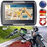NavGear TourMate N4 - Navegador GPS para moto,...