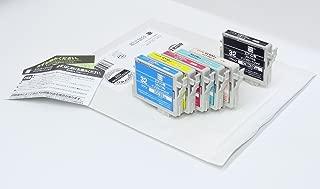 【Amazon.co.jp限定】エコリカ エプソン(EPSON)対応 リサイクル インクカートリッジ 6色パック IC6CL32 EC-IC6CL32A (FFP・封筒パッケージ) (目印:ヒマワリ)
