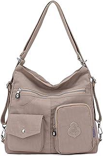 975bed404 Outreo Mujer Bolsos de Moda Impermeable Mochilas Bolsas de Viaje Bolso  Bandolera Sport Messenger Bag Bolsos