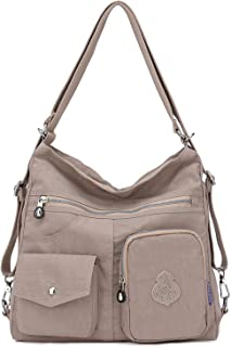 2e8cd33a7aa Outreo Mujer Bolsos de Moda Impermeable Mochilas Bolsas de Viaje Bolso  Bandolera Sport Messenger Bag Bolsos