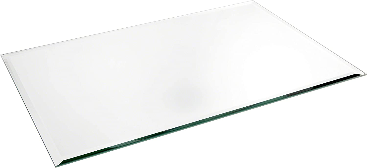 Plymor Rectangle 5mm Beveled store Glass Mirror 18 Pa x 12 safety inch