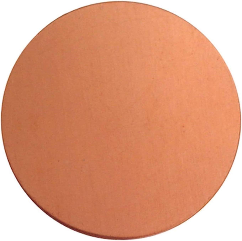 NIANXINN Max 73% OFF Pure Copper Disc Cheap sale Sheet Round Plate Circle Circul Gasket