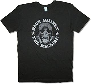 HALENS Rage Against The Machine Bandana Mask Black T Shirt New RATM