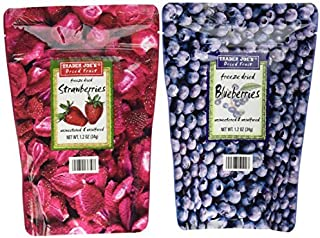 Trader Joes Freeze Dried Fruit Assortment -SET OF 4