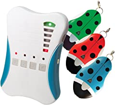 Ardi 2.4GHz Digital RF Guardian Angel, 807G3, 1 Base Unit & 3 Tag Units. Kid Tracker/Smart Direction & Distance Indicator/500M Effective Distance/Proximity Alarm Function/Mute Mode. Made in Taiwan