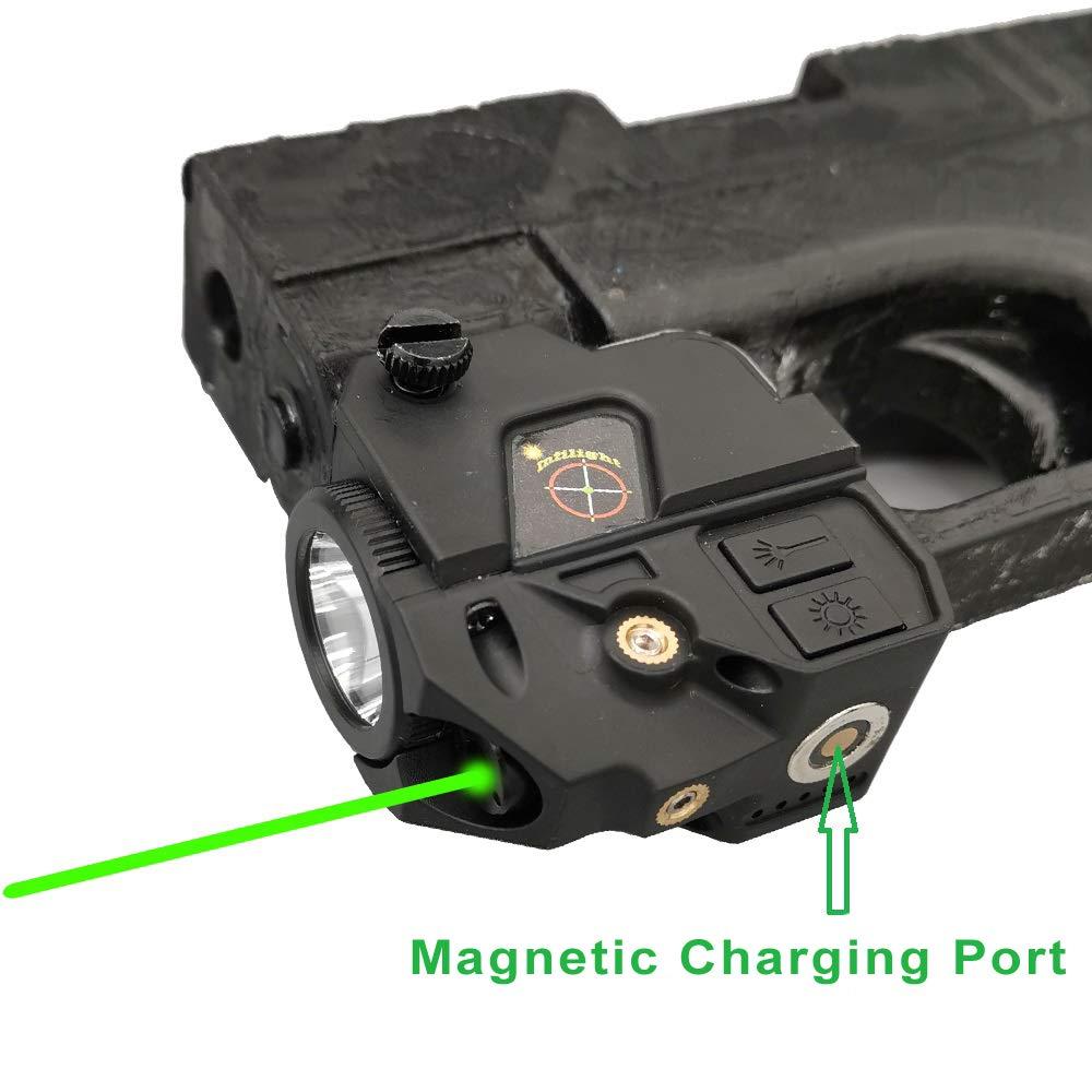 Infilight Flashlight Adjustable Picatinny Rechargeable