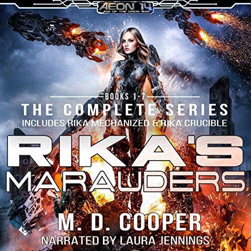 Rikas Marauders: The Complete Series cover art