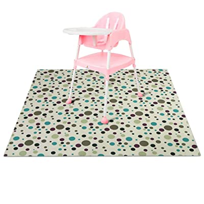 Zicac Splat Mat for Under High Chair Floor Mat ...