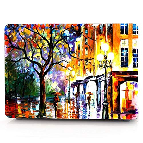 New MacBook Air 13 inch Case 2018 Release A1932, Jiehb Hard Shell Case for Newest MacBook Air 13 with Retina Display and Touch ID - Painting