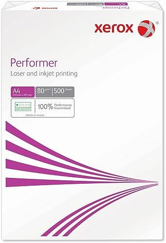 Xerox 003R90649 Performer 80 A4 Ramette de Papier Blanc, 500 feuilles