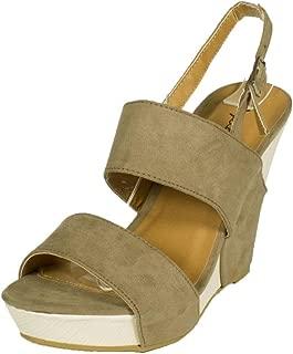 Best lena suede platform sandals Reviews