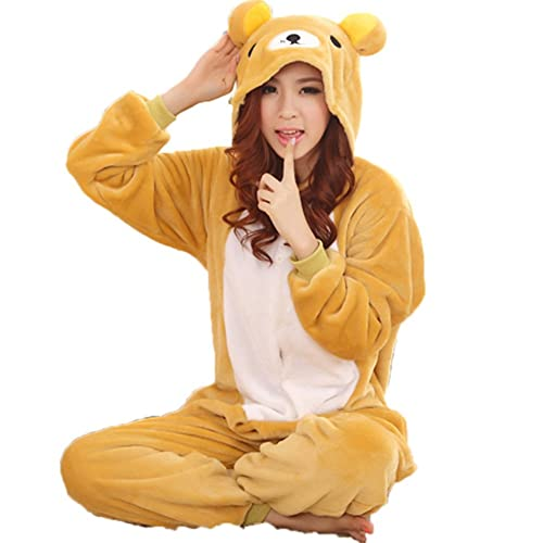 44de050c603c Zerlar Pajamas Animal Costume Onesie Adults Sleeping Wear Kigurumi Cosplay