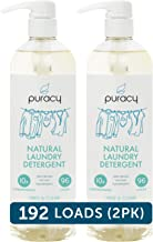 Puracy Liquid Laundry Detergent, Hypoallergenic, Natural Stain Fighting Enzymes, Free..
