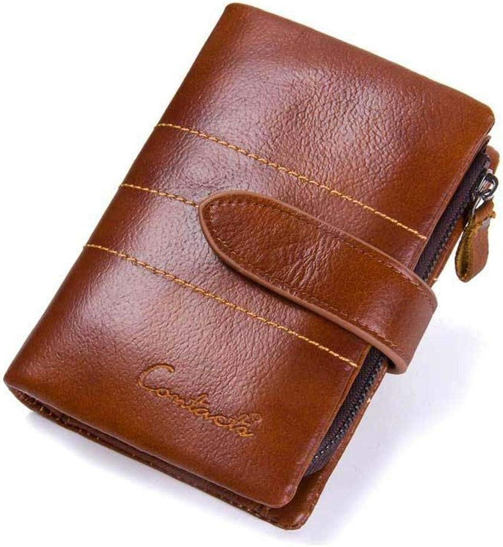 Yter Mens-Kartenmappenhalter Herrenbrieftasche, Lederhandtasche, Kurze Brieftasche Brieftasche für Männer B07NQCZ5SM