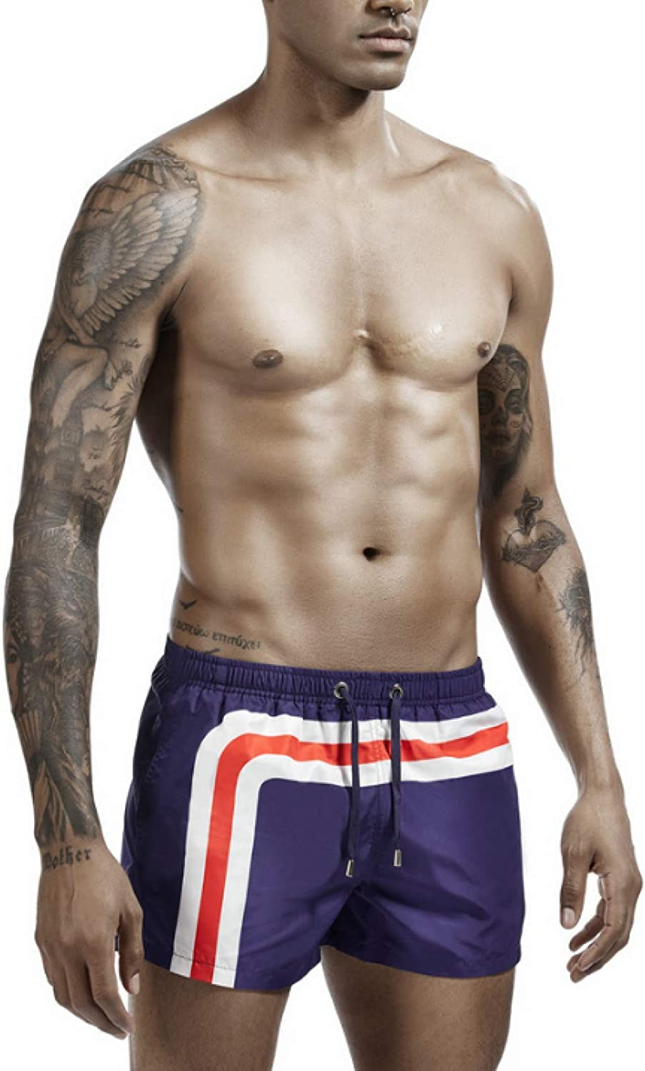 Men's Fitness Shorts Fashion Sexy Home Casual Comfortable Elasticated Waist