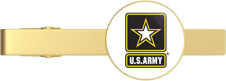 HOF 25% OFF Trading Gold US Army Star Logo Clip Veteran Tie Bar Popular product