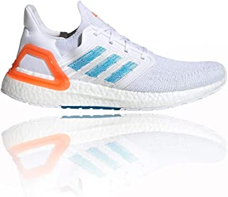 [アディダス] ULTRABOOST 20 Primeblue FTWR WHITE/SHARP BLUE/TURE ORANGE