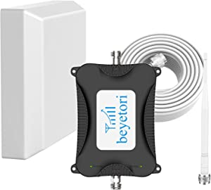 Home Cell Phone Signal Booster Band 13/12/17, LTE 4G Signal Booster 700Mhz Mobile Phone Signal Repeater Amplifier, Cell Signal Booster for Verizon, ATT, TMobile Coverage up to 2000 sq.ft