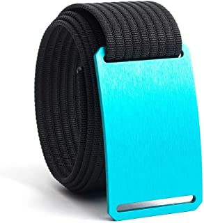 GRIP6 Belts for Men & Women- Nylon Belt- Fully Adjustable Web Belt & Belt Buckle