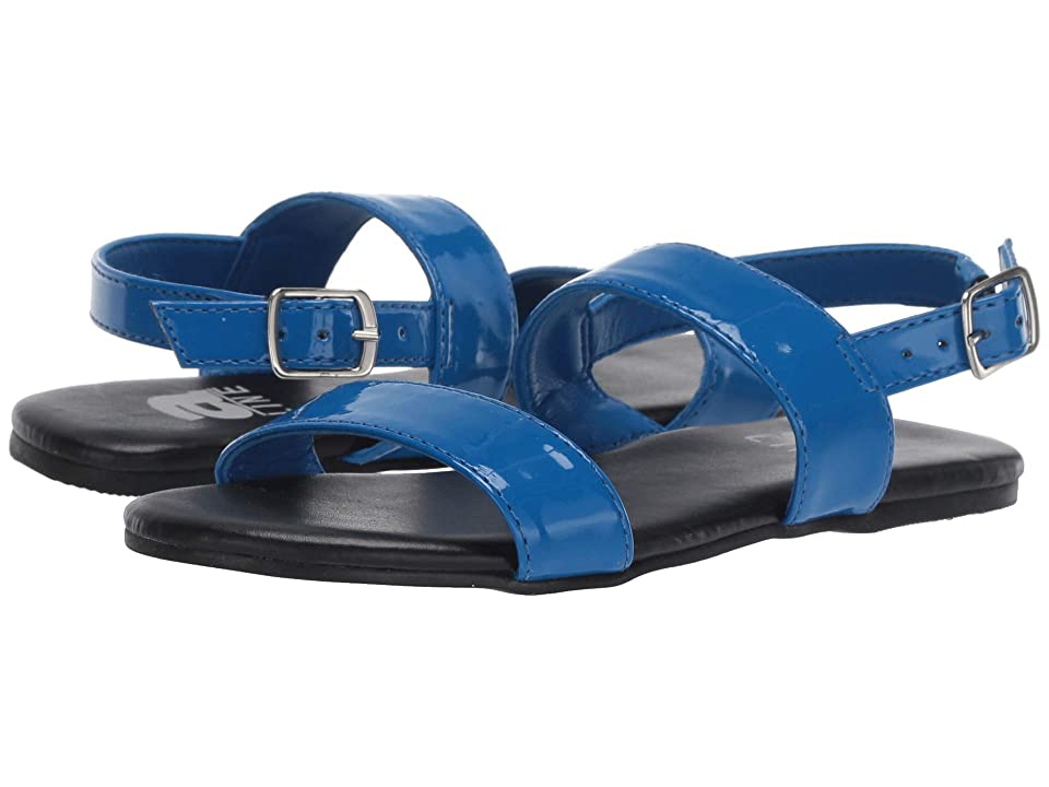 Amiana 12-100 (Toddler/Little Kid/Big Kid/Adult) (Blue Patent) Girl