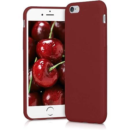 kwmobile Cover per Apple iPhone 6 / 6S - Cover Custodia in Silicone TPU - Backcover Protezione Posteriore- Rosso Matt