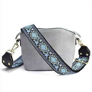 Adjustable Handbag Strap Purse Strap Replacement Guitar Style Canvas Crossbody Shoulder Bag Strap for Handbags #3