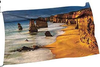 Moeeze-Home Garden Flag Arbor Apostles Australia SunGreat Ocean Road Coast Cliff by Sea for All Seasons24 x 36