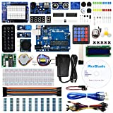 REXQualis Super Starter Kit based on Arduino UNO R3 with Tutorial and Controller Board Compatible with Arduino IDE