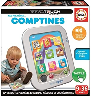Educa - 16049 - Educa Touch Baby Game - My First Counting Rhymes