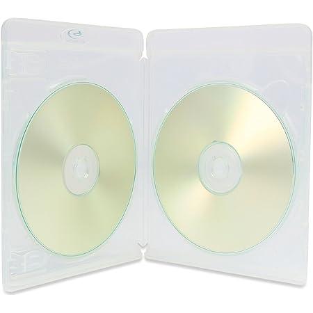 1 x AMARAY VORTEX Eco-Lite doble 3D transparente de 2 discos Blu-ray en embalaje Dragon Trading.