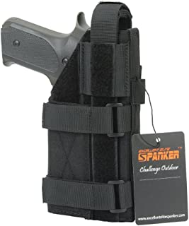 EXCELLENT ELITE SPANKER Tactical Adjustable Pistol Holster for M1911 G17 G18 G19 G26 G34 XD-45acp CZ P-10C