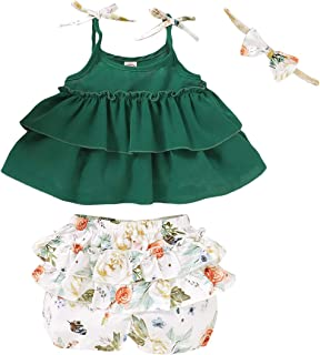 FCQNY Infant Baby Boys Clothes Short Clothes St Patricks Day Jumpsuit Rompers